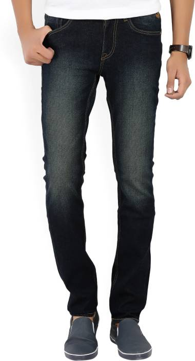 Flying Machine Skinny Men's Dark Blue Jeans