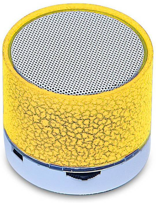 KRAZZY INDIA Bluetooth Speaker S-10 Portable Bluetooth Mobile/Tablet Speaker 3 W Bluetooth Speaker