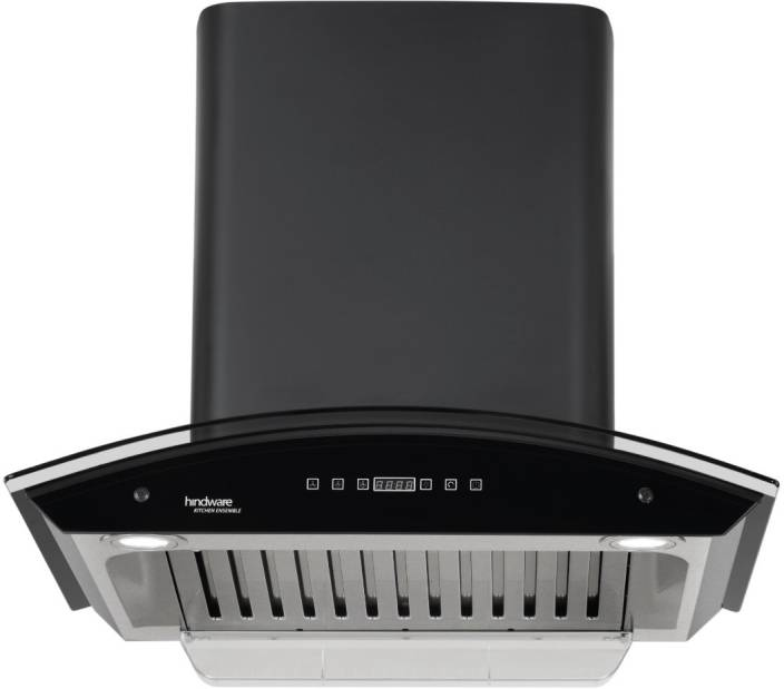 Hindware Nevio BLK 60 Auto Clean Wall Mounted Chimney