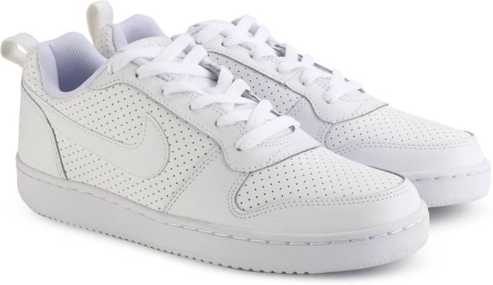 878f8e525c3320 Nike COURT BOROUGH LOW Sneakers For Men - Buy WHITE WHITE-WHITE ...