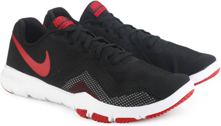 d4d4a95e67e6a Nike FLEX CONTROL II Training Shoes For Men - Buy BLACK GYM RED ...