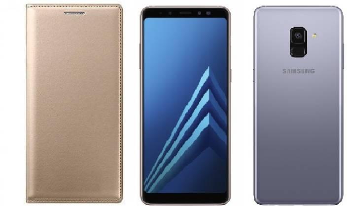 brand new 037b5 658d9 Mobicallz Flip Cover for Samsung Galaxy A8 Plus - Mobicallz ...