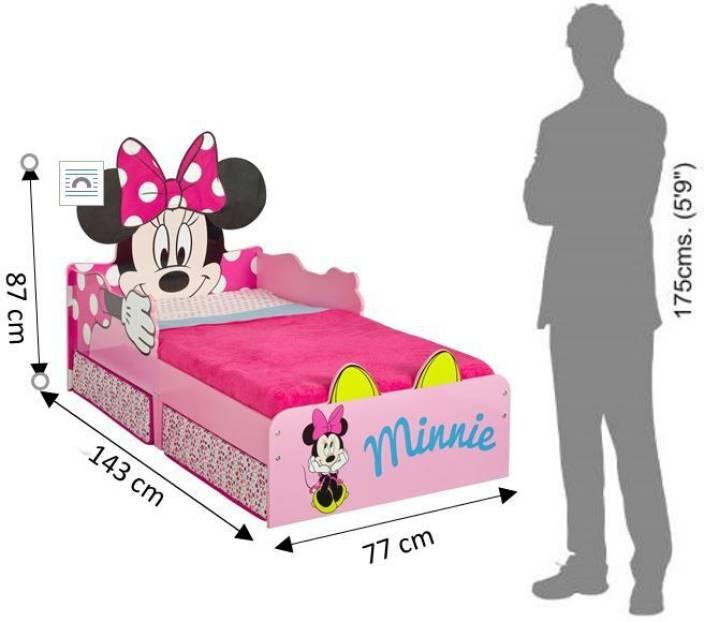 Sensational Disney Minnie Mouse Toddler Solid Wood Single Box Bed Price Creativecarmelina Interior Chair Design Creativecarmelinacom