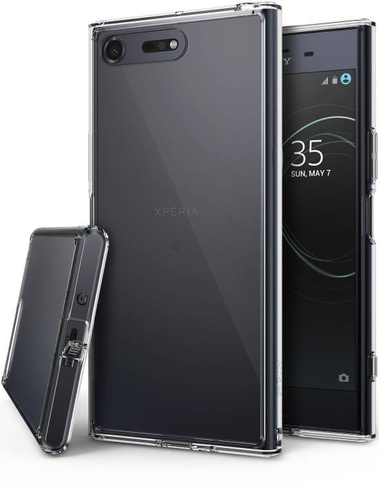 new style 92509 aed6f Ringke Back Cover for Sony Xperia XZ Premium [FUSION] Transparent TPU  Bumper [Drop Protection] Case