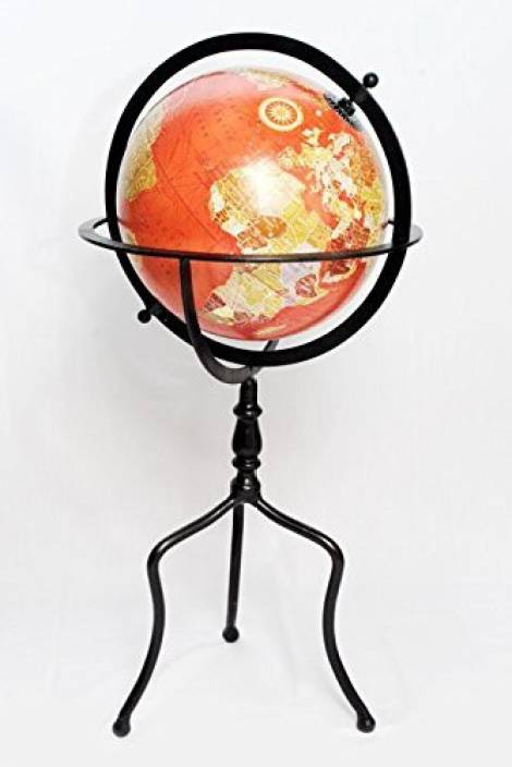 Ita impex globe vintage world map christmas gift on iron stand i72 ita impex globe vintage world map christmas gift on iron stand i72 gumiabroncs Images
