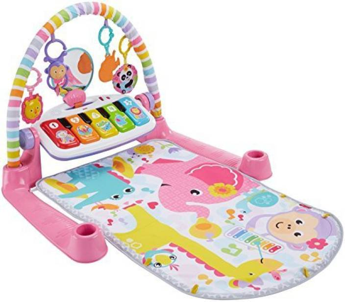 c8eb78e2b2d Fisher-Price Deluxe Kick & Play Piano Gym, Pink Price in India - Buy ...