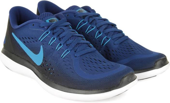 75614a0047e6 Nike FLEX 2017 RN Running Shoes For Men - Buy GYM BLUE BLUE ORBIT ...