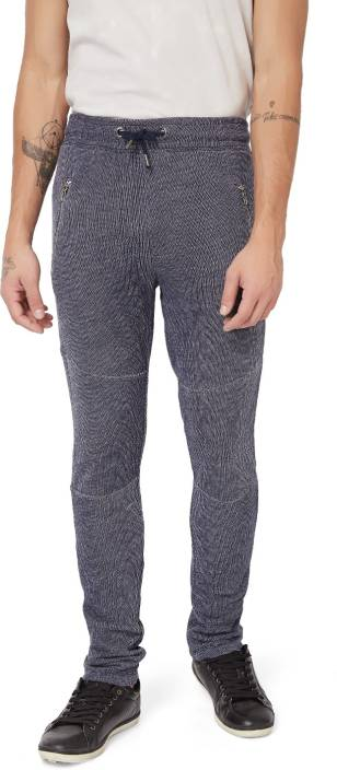 Breakbounce Slim Fit Men's Blue Trousers