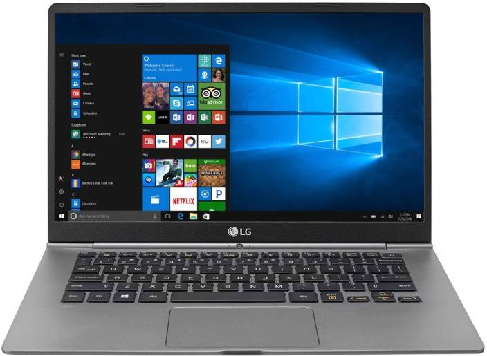 LG Gram Core i5 7th Gen - (8 GB/256 GB SSD/Windows 10 Home) 14Z970 Thin and Light Laptop  (14 inch, Dark SIlver)