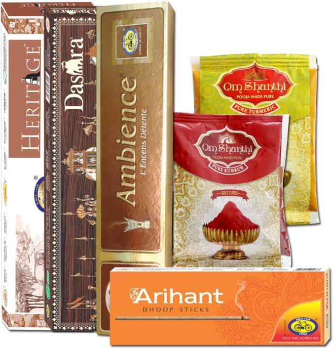 Cycle Special Combo Pack Dasara Incense Sticks ( 65 Sticks