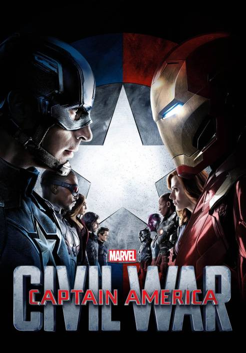 CAPTAIN AMERICA-CIVIL WAR (Bluray Movie 1080p Full HD with