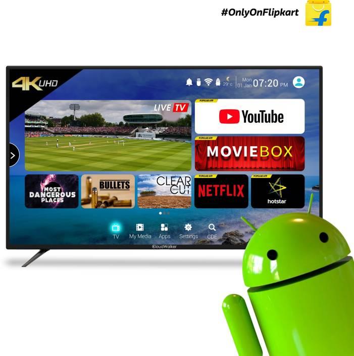 CloudWalker 109 cm (43 inch) Ultra HD (4K) LED Smart TV