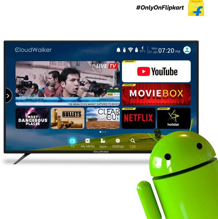 CloudWalker 109cm (43 inch) Full HD LED Smart TV