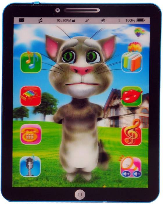 8ae0bd64c5a1e Bonkerz Talking Tom Interactive Learning Tablet Price in India - Buy ...