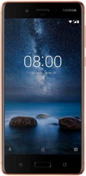 Nokia 8 (Polished Copper, 64 GB)