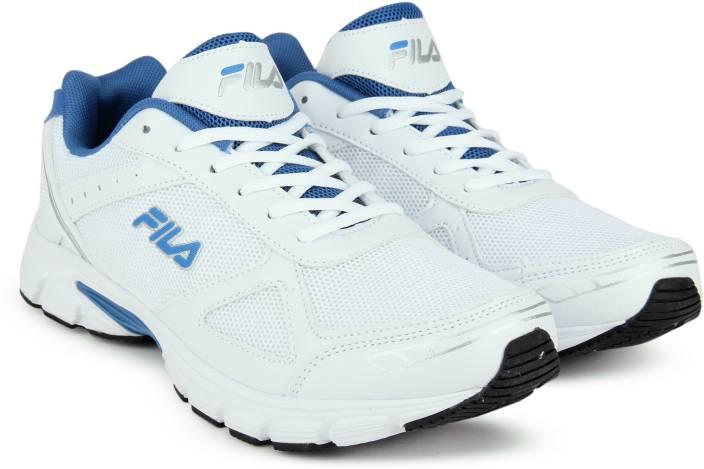 cb0133b339 Fila PUREST PLAY Running Shoes For Men - Buy WHT RYL BLU Color Fila ...