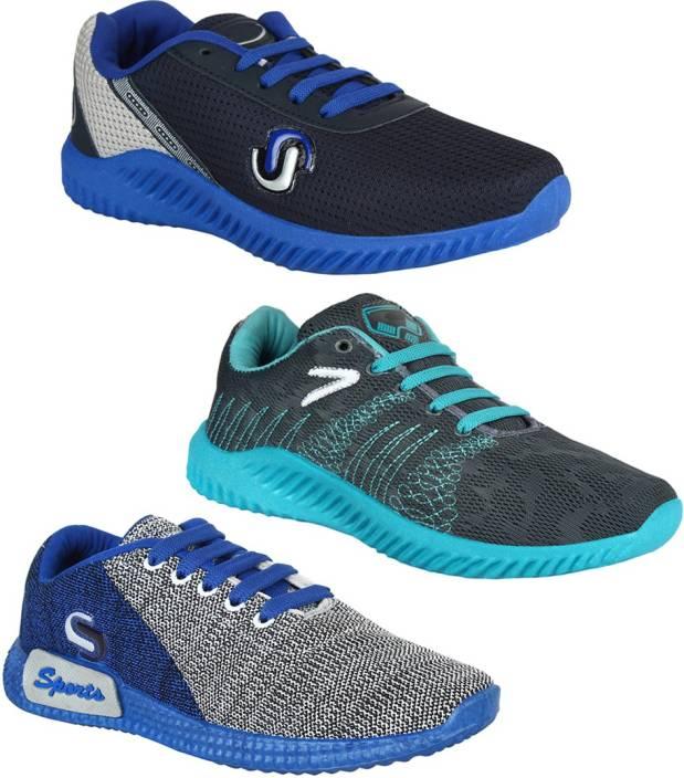 Bersache COMBO(B)-742-747-750 Running Shoes For Men