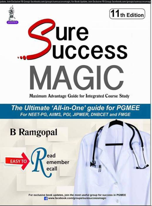 SURE SUCEESS MAGIC 11 TH EDITION BY B RAMGOPAL: Buy SURE