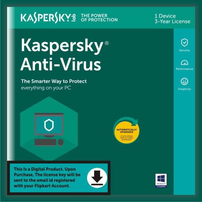 KASPERSKY 1 PC 3 Years Anti-virus Activation Code