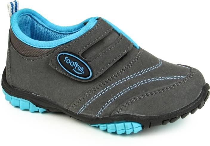Footfun by Liberty Boys & Girls Slip on Running Shoes