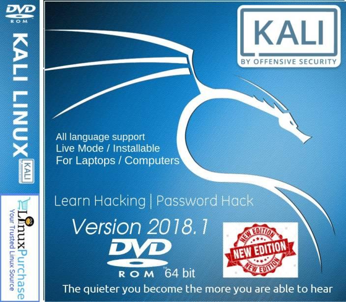 Linux Purchase - Kali Linux 2018 1 DVD 64 bit