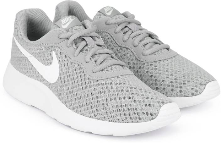89ead6c5c98 Nike TANJUN Running Shoes For Men - Buy WOLF GREY WHITE Color Nike ...