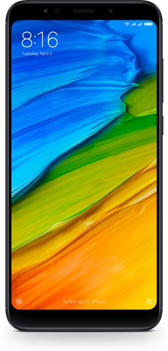 Redmi Note 5 (Black, 64 GB) (4 GB RAM)#OnlyOnFlipkart