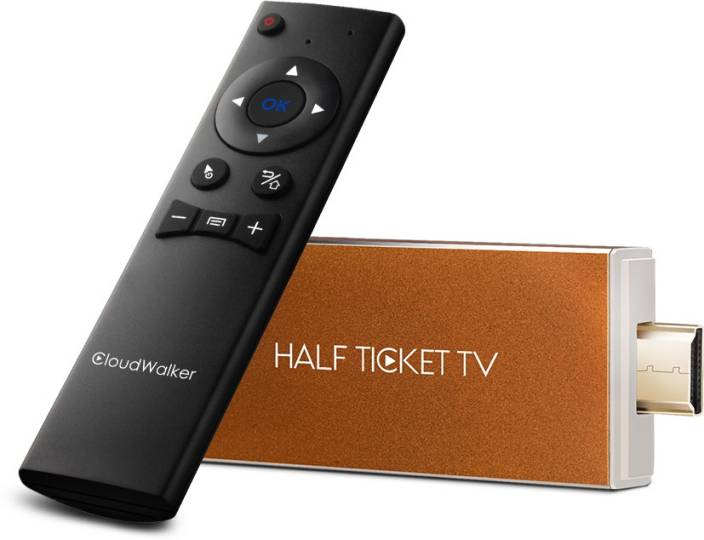 CloudWalker Smart TV Stick with Air Mouse Media Streaming Device