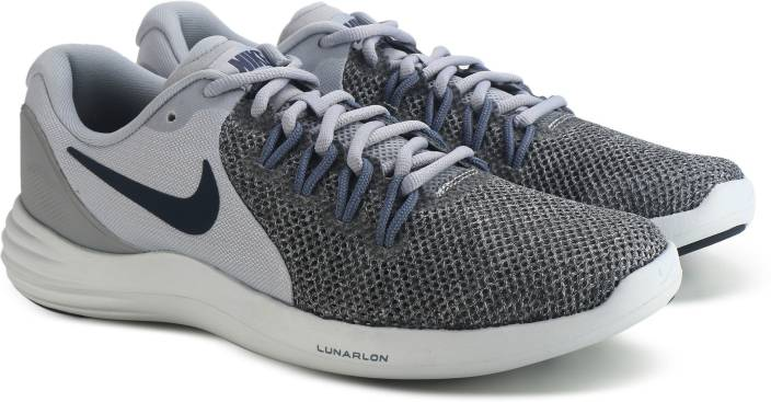 03bd59a69e82 Nike LUNAR APPARENT Running Shoes For Men - Buy WOLF GREY THUNDER ...
