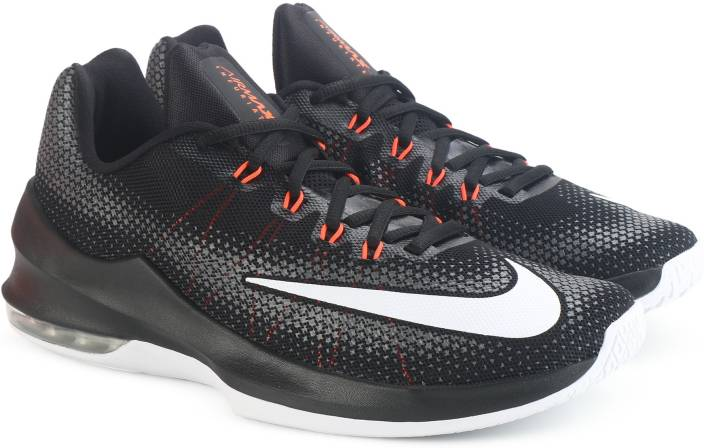 cheap for discount 6837e f8b4e Nike AIR MAX INFURIATE LOW Basketball Shoes For Men (Black)