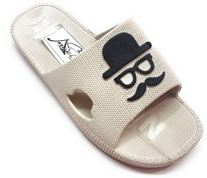 Angel Fashion Moustache Slipper Slides. Share. Home · Footwear · Men's  Footwear · Slippers & Flip Flops