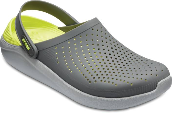 cf5546437 Crocs Men Grey Sandals - Buy Crocs Men Grey Sandals Online at Best Price - Shop  Online for Footwears in India