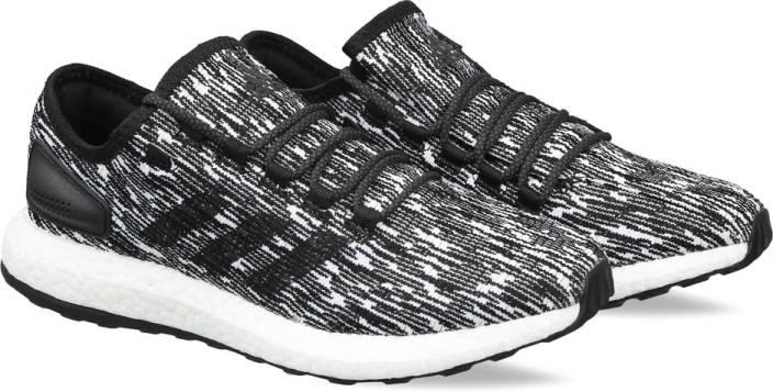 1e5dc80e96d54 ADIDAS PUREBOOST Running Shoes For Men - Buy CBLACK FTWWHT FTWWHT ...