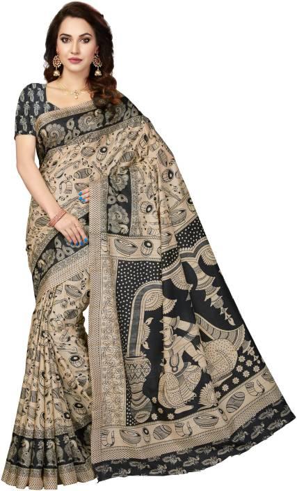 2e0178fd7cd4a3 Buy Rani Saahiba Printed Kalamkari Tussar Silk
