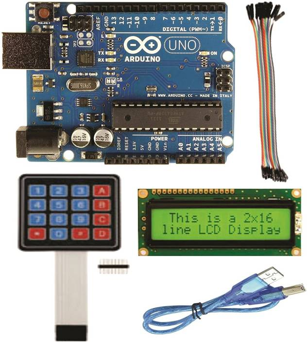Robocraze Arduino UNO Kit for Robotic Projects
