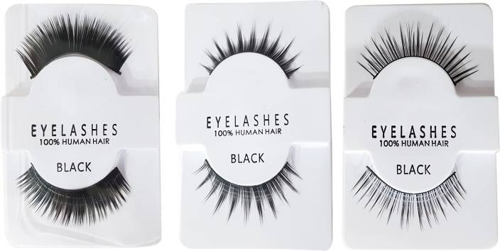 b319b32d2aa Fully Eye Lashes – Party Wear For Eye Makeup (Normal + Medium + Heavy)  (Pack of 6)