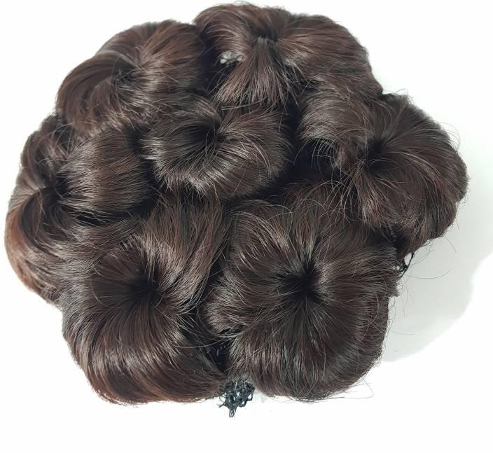 Fully Hair Juda Extension For Women Juda Bun Maker Hair
