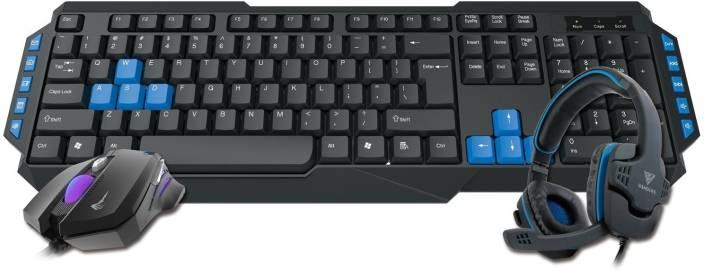 Gamdias Poseidon E1 Gaming Combo with Keyboard, Mouse and Headset Combo Set