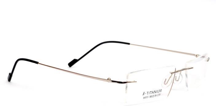 4f2edb93a9e Redex Rimless Rectangle Frame Price in India - Buy Redex Rimless ...