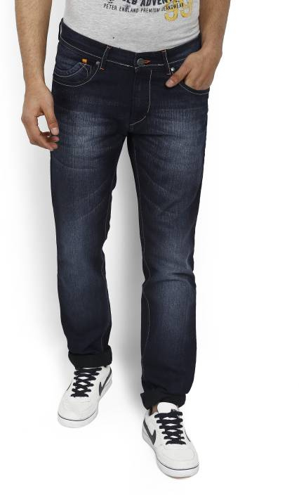 Highstar Slim Mens Dark Blue Jeans