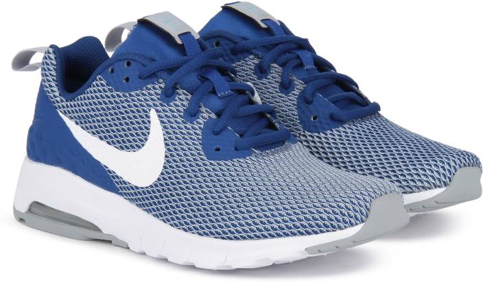 on sale 04de9 1775a Nike AIR MAX MOTION LW MESH Running Shoes For Men (Blue, White)