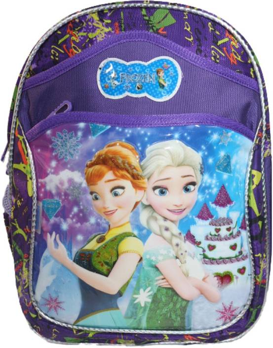 86e28f282b Barbie Frozen Girls School Bag Class 1 2 3 4 Waterproof School Bag (Dark  Blue