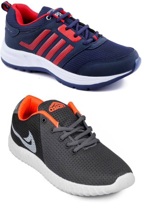 Asian Men Casual & Running Shoes Combo Pack of 2 Running Shoes For Men