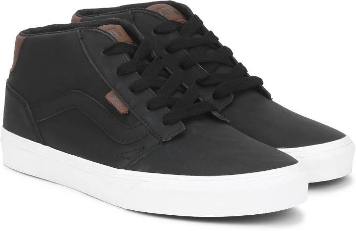 1a4bdfaeee Vans Chapman Mid Sneakers For Men - Buy Black Color Vans Chapman Mid ...