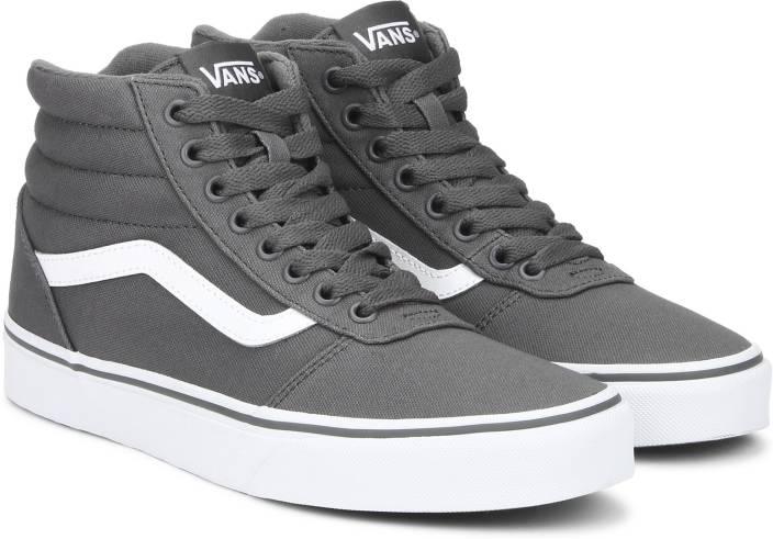 Vans Ward Hi Sneakers For Men - Buy grey Color Vans Ward Hi Sneakers ... ba273ff3f