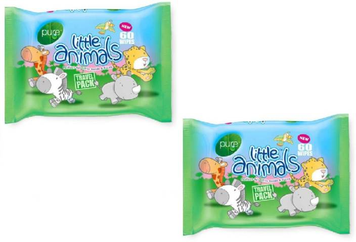 Pure Little Animals Wipes