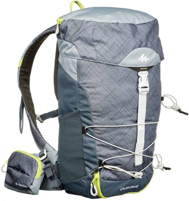 bbc7a4f9a2b Quechua by Decathlon Backpack Mh100 20L Grey 20 L Backpack Grey ...