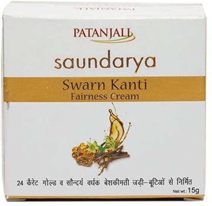 Patanjali Saundarya Swarna Kanti Fairness Cream 15g
