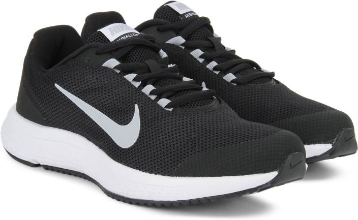 b08f49488 Nike RUNALLDAY Running Shoes For Men - Buy BLACK/WOLF GREY-WHITE ...
