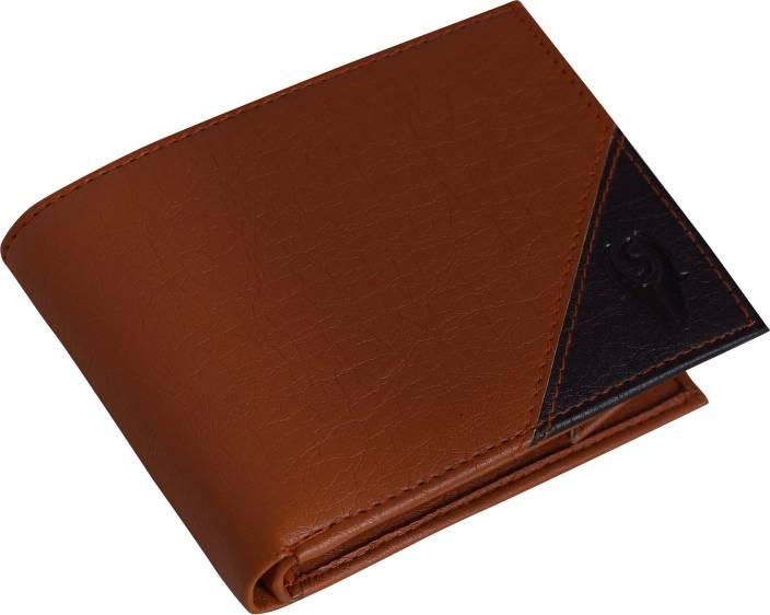 SAMTROH Men Formal Black, Brown Artificial Leather Money Clip